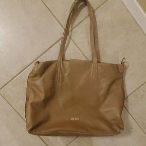 Lucky brand Leather tote bag.